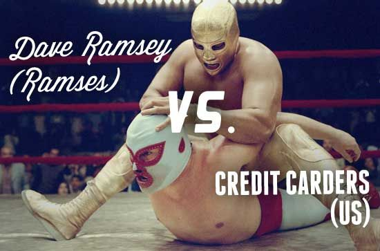 Dave Ramsey hates credit cards (and us)