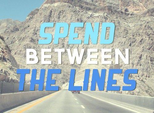 Spend Between the Lines