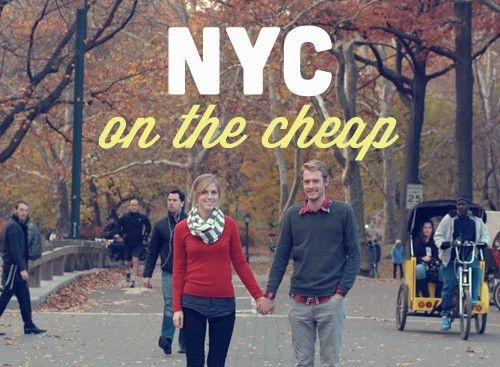 Check out our favorite eats and sights in NYC on the cheap!