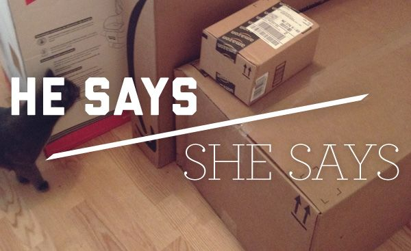 He Says/She Says: Tracking Packages