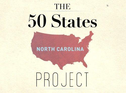 The 50 States Project: North Carolina