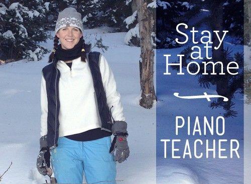 Sarah Piano Teacher