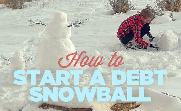 How to Start a Debt Snowball