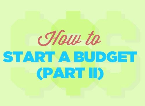 How to Start a Budget