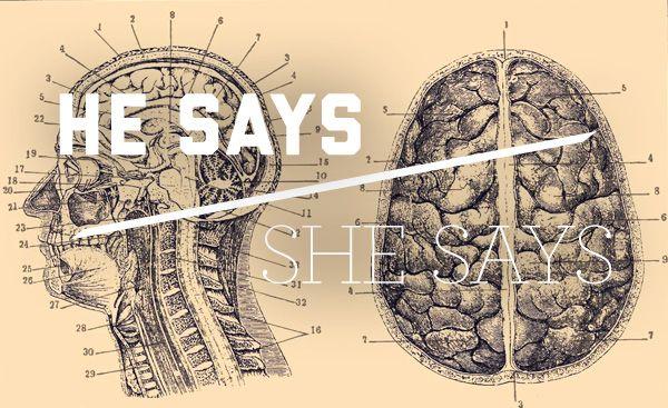 He Says/She Says: Self-diagnosis