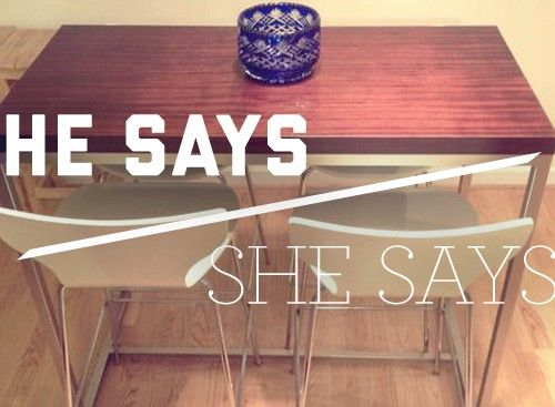 He Says/She Says: Selling Our Stuff