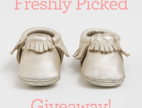 Freshly Picked moccasin giveaway on OurFreakingBudget.com!