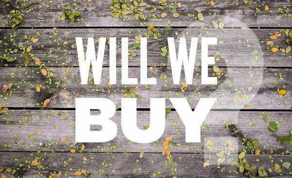 Will We Buy in 2014?