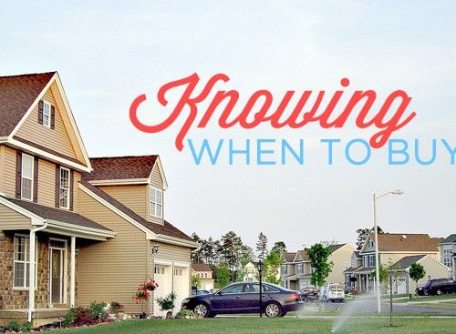 Knowing When to Buy