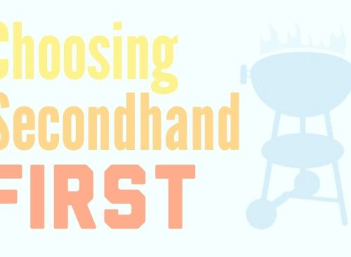 Choosing Secondhand First