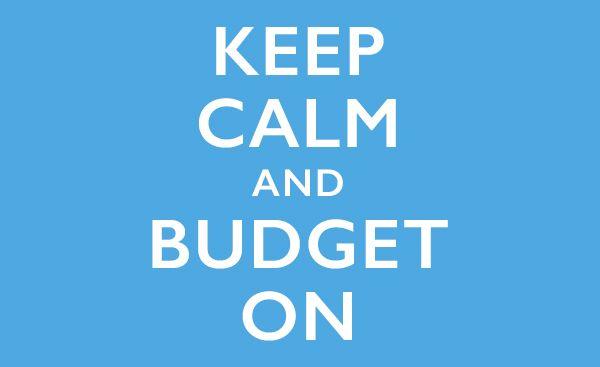 Keep Calm and Budget On