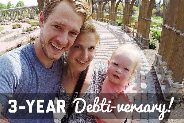 Three-Year Debti-versary!