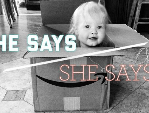 He Says/She Says: Product Boxes