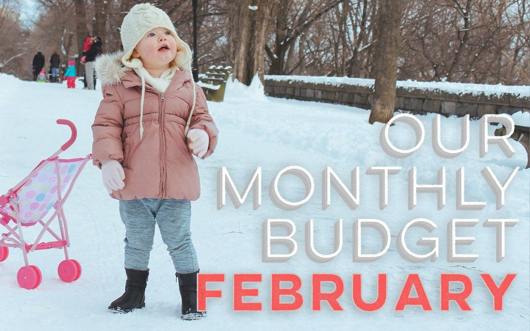 Our Monthly Budget: February