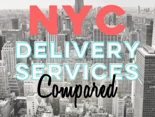 NYC Delivery Services Compared
