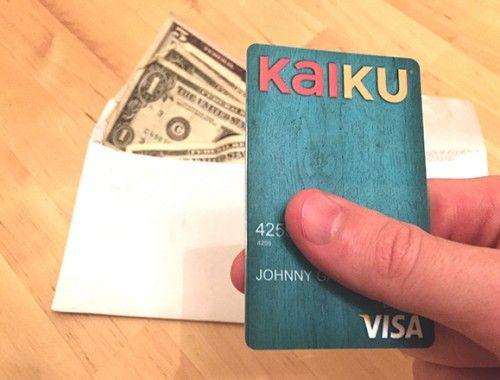 VISA Prepaid Clear with Kaiku